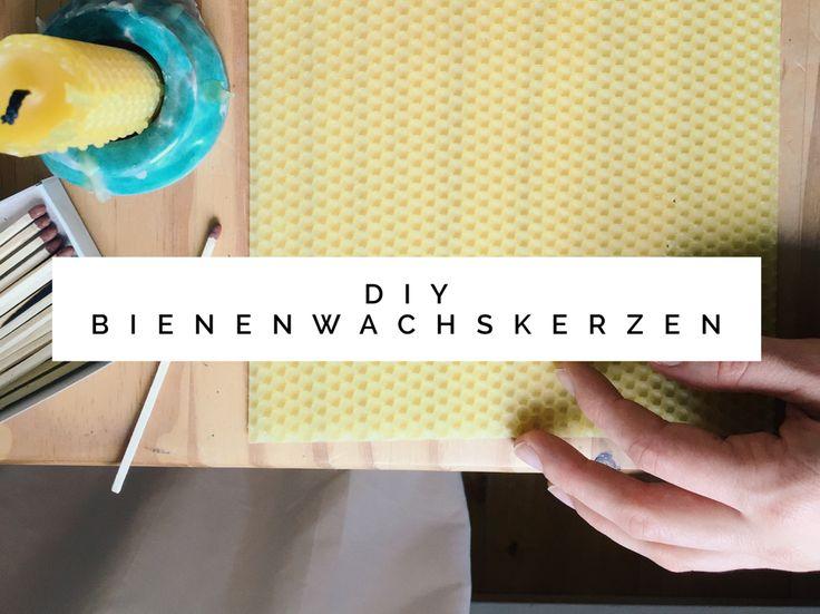 DIY Bienenwachskerzen und ein paar Gedanken zum Winter. DIY beeswaxcandles