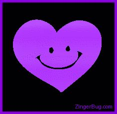 Purple Glitter Hearts | Copy the code above and paste into the html design view of any profile ...
