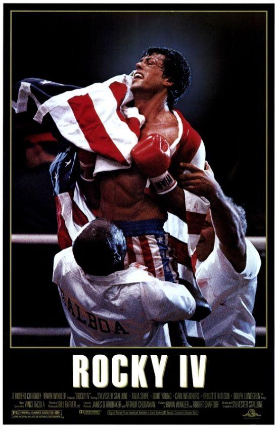 Rocky 4 Movie Poster Print (27 x 40) - Item # MOVEF2207 - Posterazzi