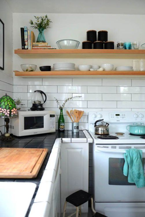 How to choose the right subway tile backsplash ideas and for Kitchen ideas no upper cabinets