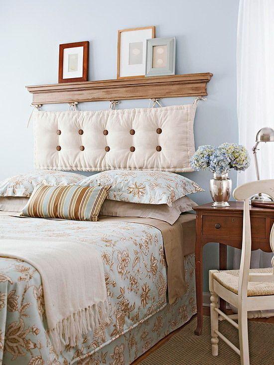 Фотография: Спальня в стиле Кантри, Интерьер комнат, идеи для спальни, как…