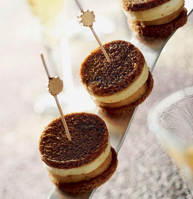 Peperkoeksandwiches met gekonfijte appel en camembert - Recepten - Culinair - KnackWeekend Mobile