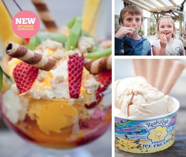 Roskillys Farm (ice cream!)