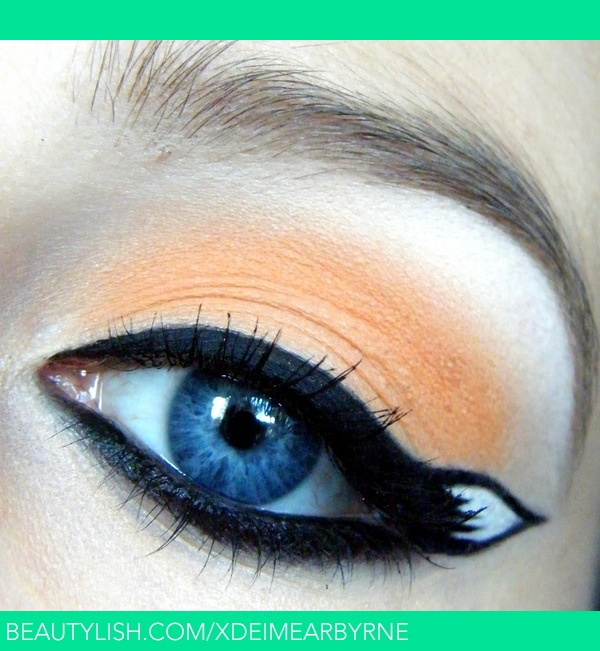 Sonic & Tails: Tails Inspired Makeup | Eimear B.'s (xDEimearByrne) Photo | Beautylish