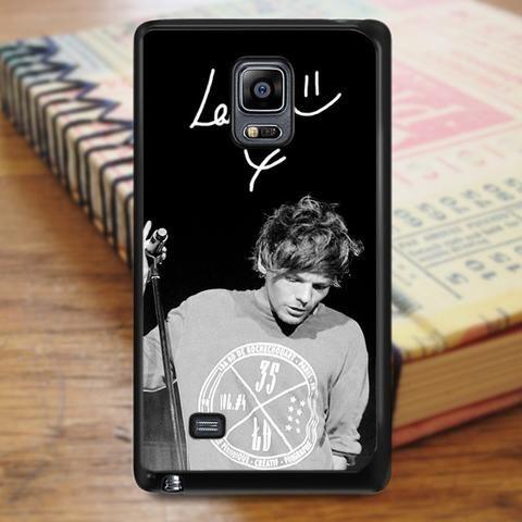 Louis Tomlinson One Direction Boyband Singer Samsung Galaxy Note Edge Case