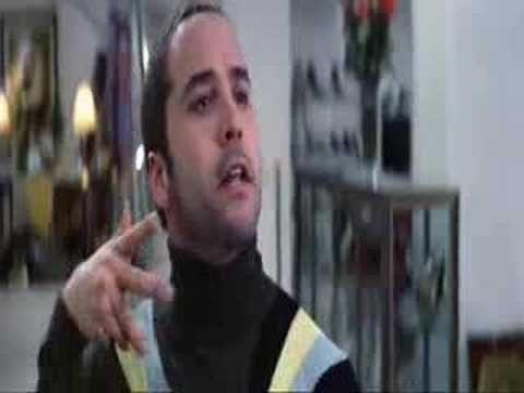 "Rush Hour 2: ""croc skin, buttercream, buttercream, croc skin..."""