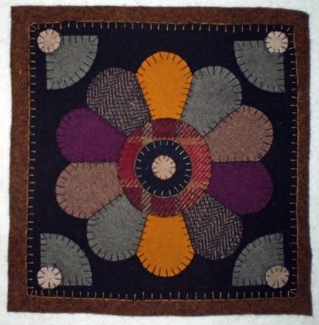 Free Printable Penny Rug Patterns New Pattern Wool