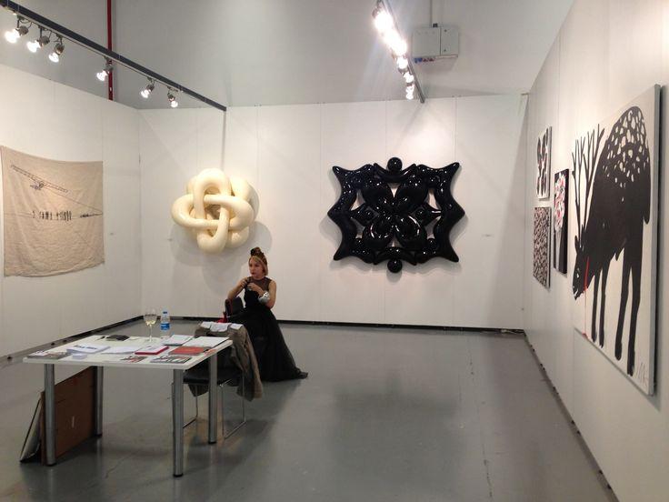 ART re.FLEX Gallery at Contemporary Istanbul (2013) - artists: Marina Koldobskaya, Sasha Frolova, Daria Surovtseva, Mina Milk and Maria Arendt.