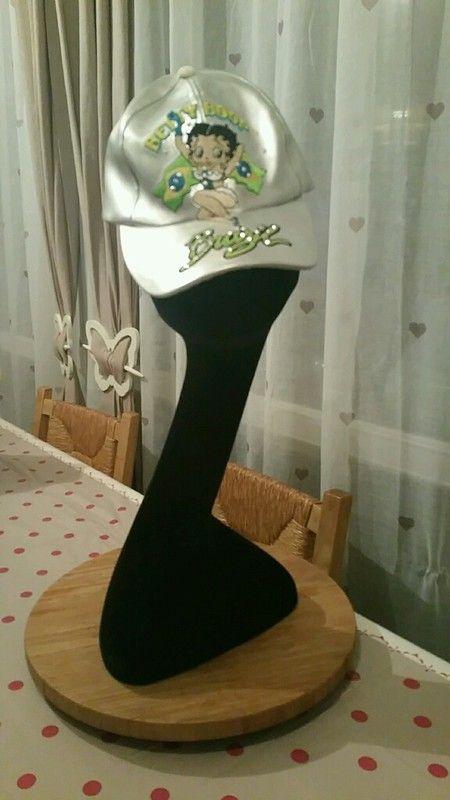 Casquette argenté Brazil Betty Boop