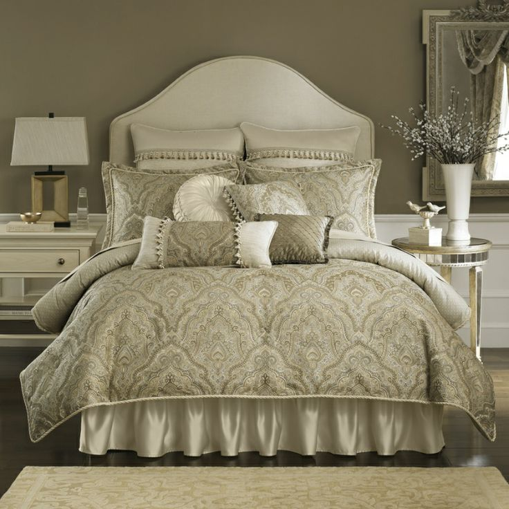 coppelia bedroom collection california king comforter set taupe