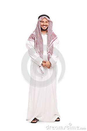 Abito bianco arabo bk