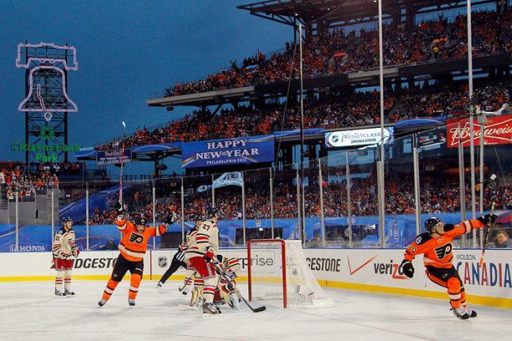 Philadelphia Flyers' Brayden Schenn Winter Classic