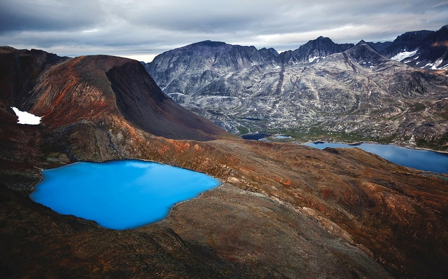 Torngat Mountains, Labrador - I could be wrong, but I believe this is a supraglacial lake. And I need to see it.