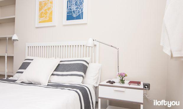 #proyectoboqueria #iloftyou #interiordesign #ikea #barcelona #barrigòtic #lowcost #bedroom #bardu #trysil #tral