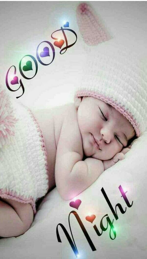 Cute Baby Cute Baby Good Night Good Night Greetings Good Night