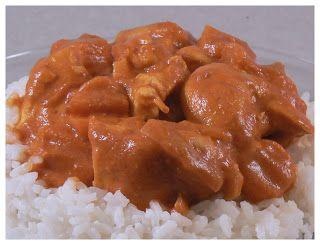 Le palais gourmand: Colombo de poulet au lait de coco