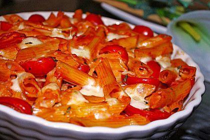 Cremiger Nudelauflauf mit Tomaten und Mozzarrella, ein raffiniertes Rezept aus der Kategorie Saucen. Bewertungen: 416. Durchschnitt: Ø 4,6.
