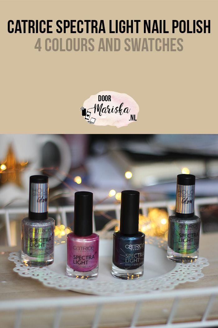 Catrice Spectra Light nail polish swatches #nailpolish #catrice - doormariska.nl