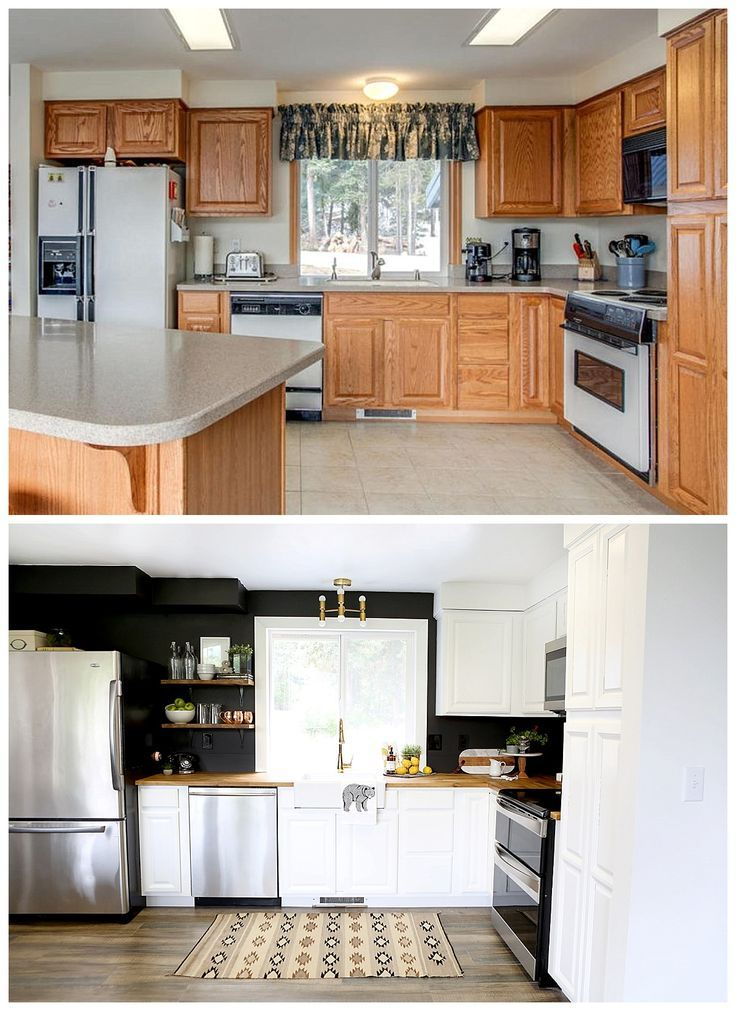 20 Kitchen Cabinet Refacing Ideas In 2020 Options To Refinish Cabinets Kitchen Remodel Small Small Kitchen Diy Diy Kitchen Remodel