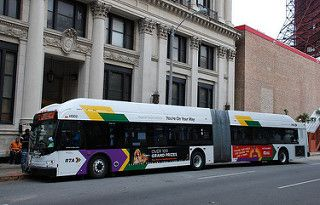 RTA Bus New  Orleans  New  Flyer  Articulated