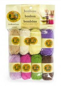 Lion Brand Bonbons - Nature (640)
