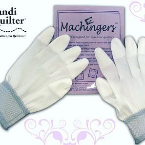 #featurethursday Machingers™ Quilting Gloves are specifically designed for machine quilters. Fully coated fingertips provide excellent grip with less resistance and drag on fabric. Made from nylon knit, threads don't stick! Seamless design gives freedom to use fingertips! Check them out on our website