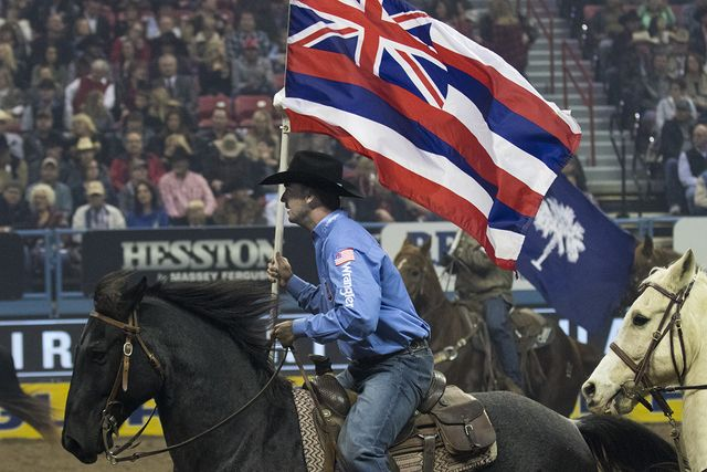 NFR steer wrestler Cody Cabral of Hawaii embraces rodeo life http://www.reviewjournal.com/sports/columns/ed-graney/nfr-steer-wrestler-cody-cabral-hawaii-embraces-rodeo-life?utm_source=rss&utm_medium=Sendible&utm_campaign=RSS