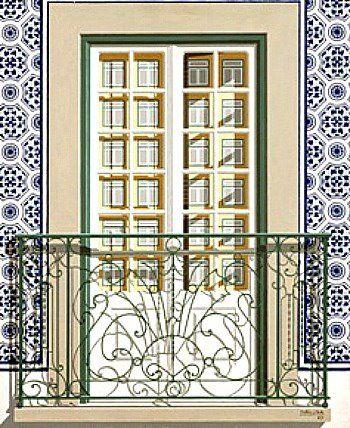 """MALUDA - Pintura - Artodyssey - Portuguese Windows - Lisbon Windows Maluda nasceu na cidade de Pangim, em Goa, no então Estado Português da Índia. Viveu desde 1948 em Lourenço Marques (actual Maputo), onde começou a pintar e onde formou, com mais quatro pintores, o grupo que se intitulou """"Os Independentes"""""""