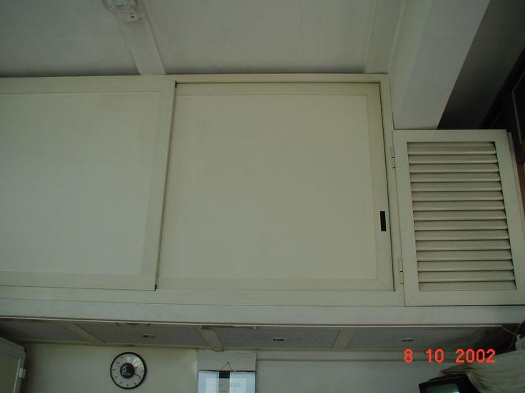 soppalco armadio imn alluminio con ante scorrevoli e anta ventilata