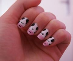 cow....NAILS!!!