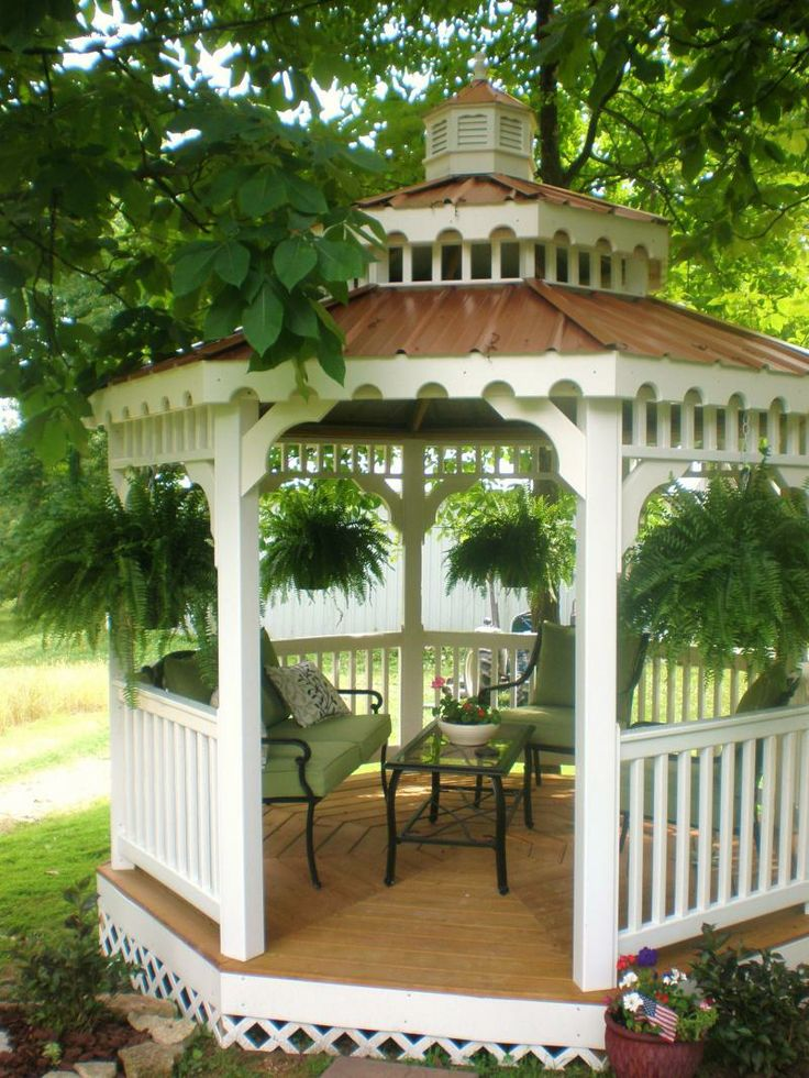 Beautiful gazebo ideas this gazebo plan will help you build a gazebo for your yard that will soon become the center of your social life