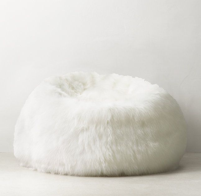 52e76df218 Kashmir Faux Fur Bean Bag  RHTEEN