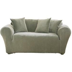 Target Stretch Pique Sofa Slipcover Eye Wish Eye Wish