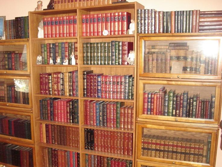 Easton Press 35 Volumes AS NEW Full Leather 100 Greatest Books | eBay
