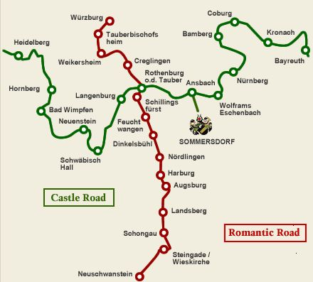 Best Germany Images On Pinterest Travel Europe And Visit Germany - Germany map romantic road