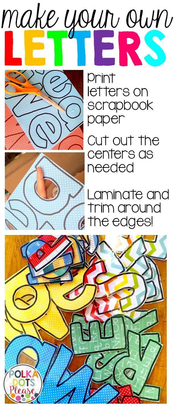 ideas about Bulletin Board Letters on Pinterest | Classroom bulletin ...