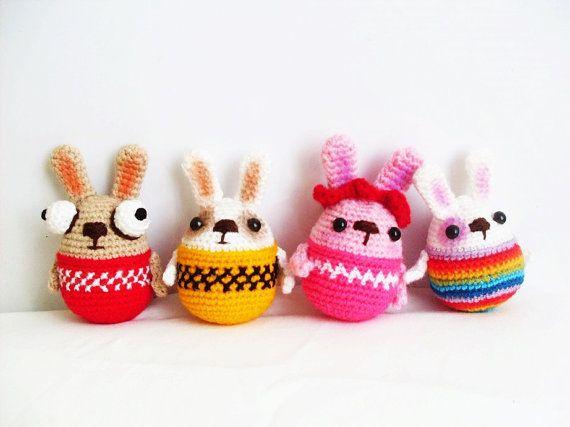 Mejores 90 imágenes de Amigurumis Pascua en Pinterest | Pascua ...
