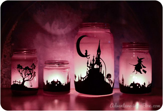 Halloween Deko Gläser