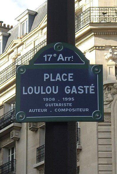 La place Loulou-Gasté  (Paris 17ème)