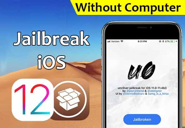 How To Jailbreak iOS 12 Without a Computer (Unc0ver