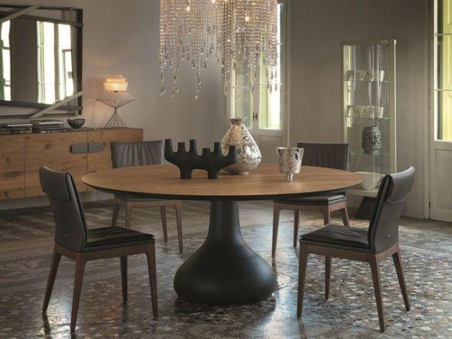 Runder Esstisch In Tollem Design Für Gesellige Mahlzeiten