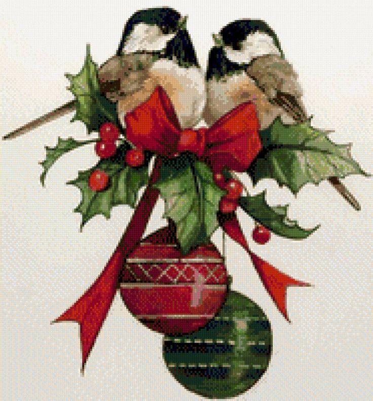 Christmas birds, предпросмотр