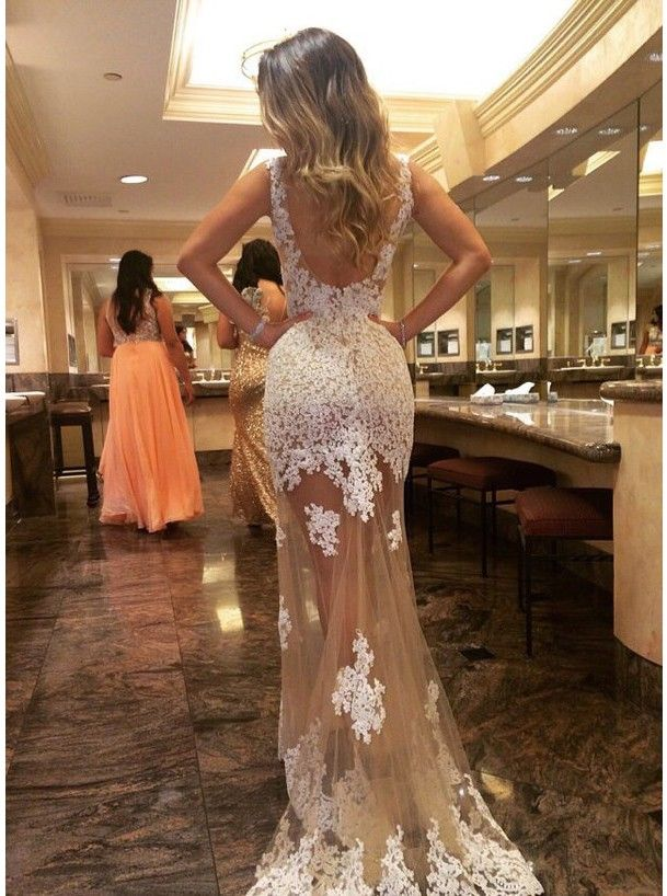 86 best prom dresses images on pinterest ball dresses formal ulass generous prom dressevening dress champagne tulle backless with white lace appliques 2016 mightylinksfo