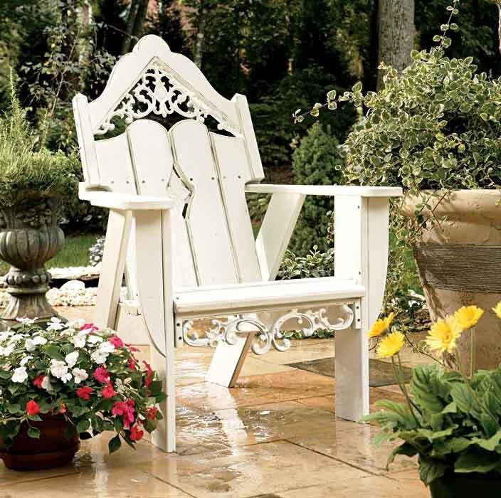 Victorian Adirondack Chair - love it!!!