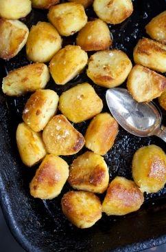 Fluffy and Crispy Goose Fat Potatoes