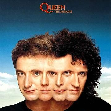 "Queen ""The miracle"" 1989"