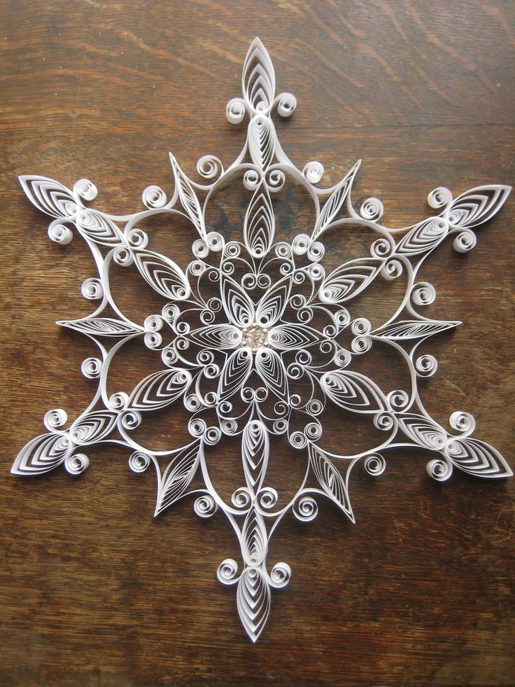 quilled snowflake