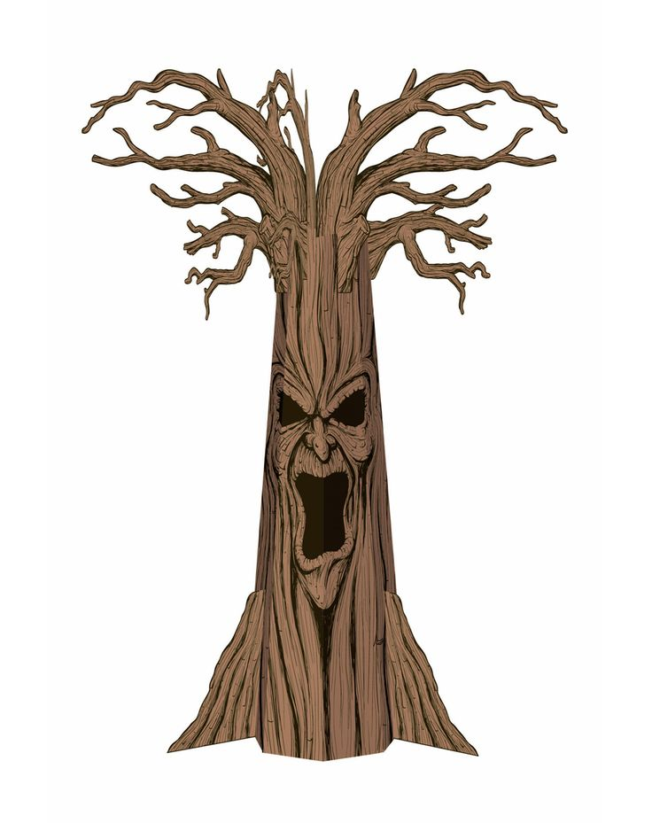 scary tree costume from the wizard of oz