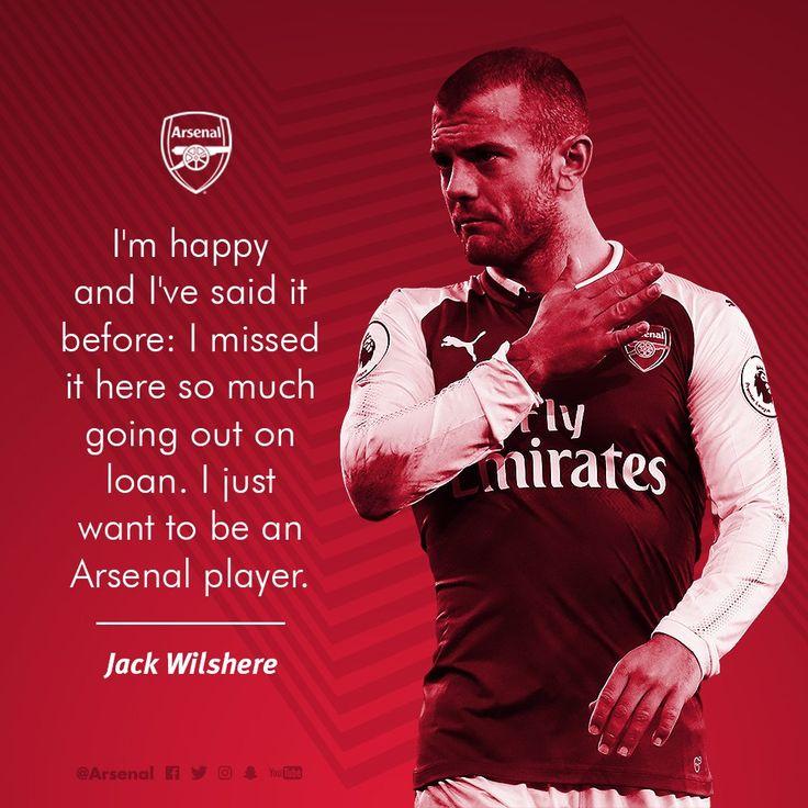 AFC in Jack Wilshere blood!