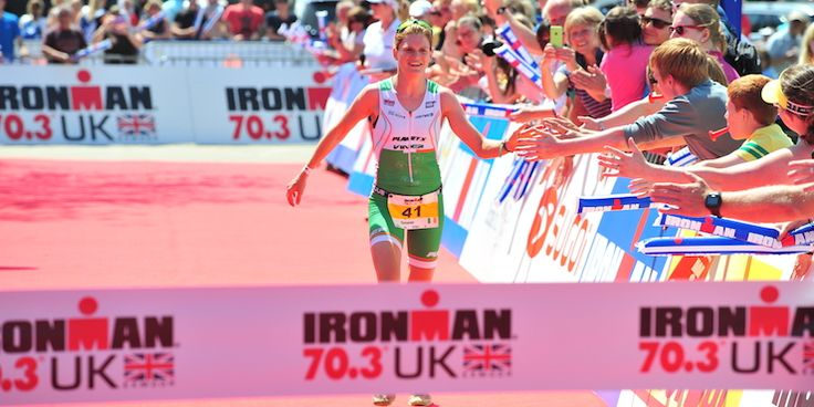Eimear Mullan wins Ironman 70.3 UK for the 3rd year in a row